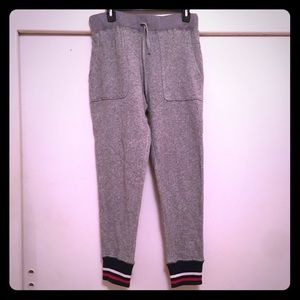 French terry jogger pant.